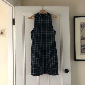 The Perfect Plaid Shift Dress